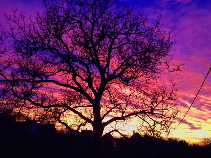 Január 11 naplemente