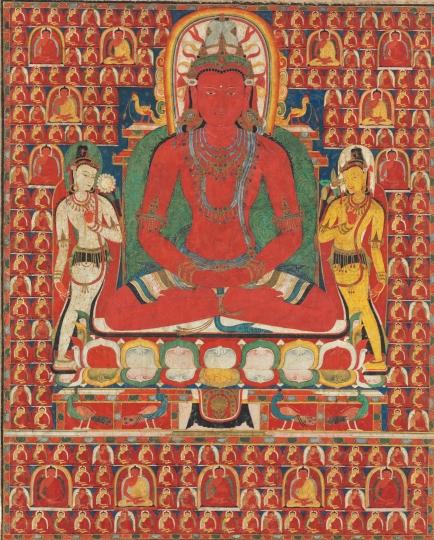 Amitabha Buddha Tibet, XIII-XIV. század